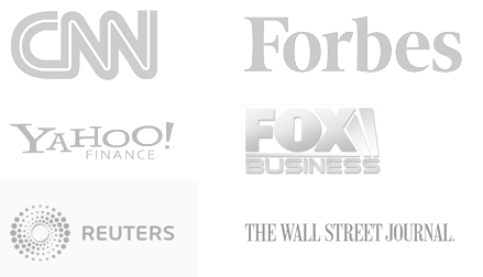 We have been featured by CNN, Forbes, The WSJ, and many other news sources.